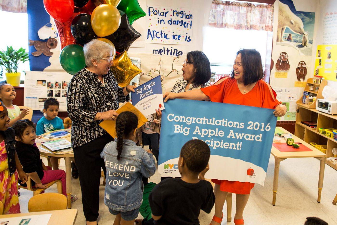 Thank Your Teachers with This Year's Big Apple Awards!