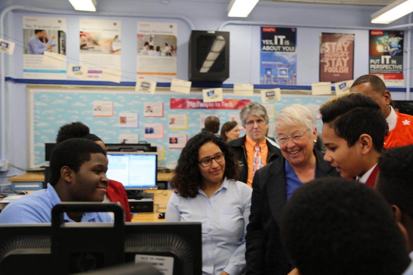 NYC Schools Celebrate Computer Science Education Week