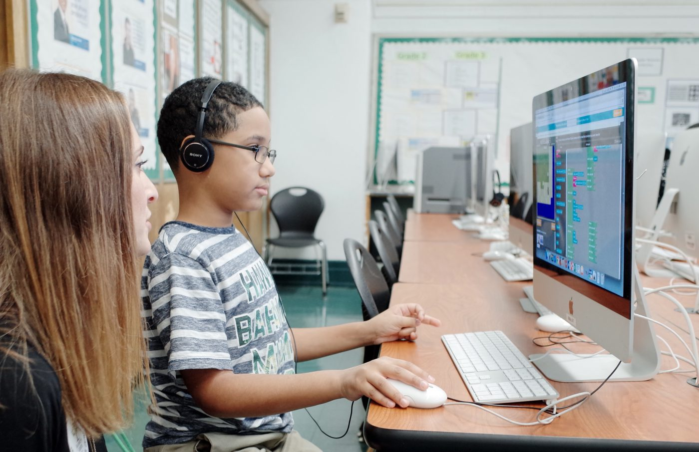 An Hour of Code for a Lifetime of Opportunity