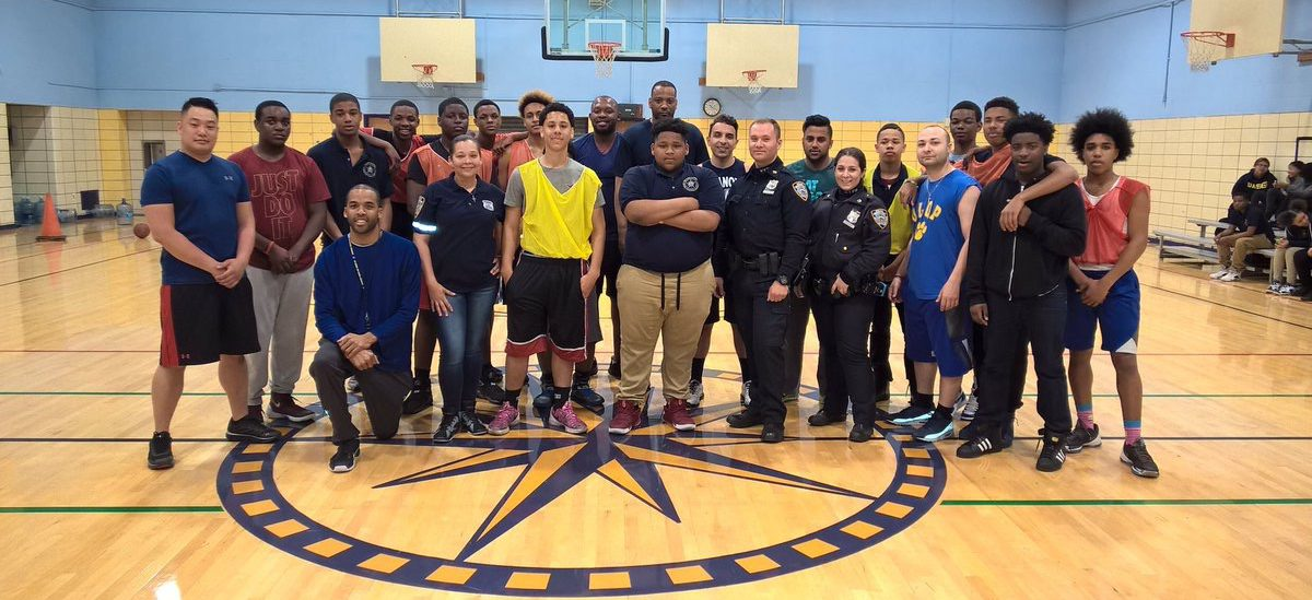 NYPD 'Teams Up' with NYC High Schools for Team Up! Tuesday