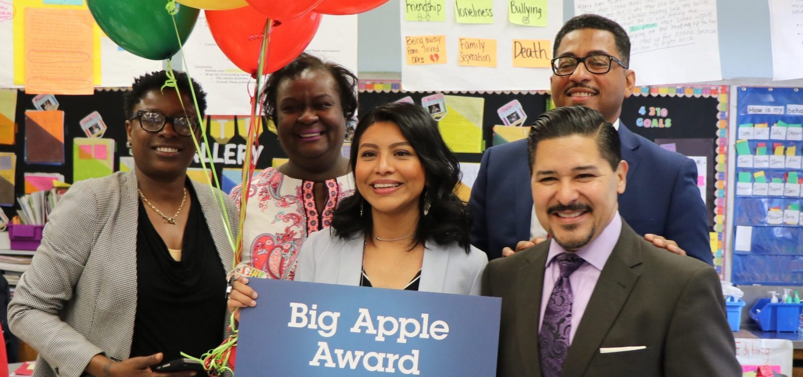Nominate Your Favorite Teacher for the 2020 Big Apple Awards